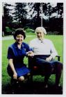 Kathryn Benson-Evans and Lady Baden-Powell at...