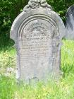 Gravestone of James James at Noddfa Chapel,...