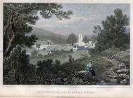 Engraving of St Peter's Church Blaina by Henry...