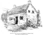 Drawing of Rev Edmund Jones Birthplace at...