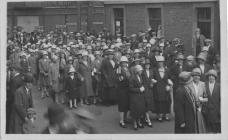 Whitsun Walk, Ebbw Vale c1920s