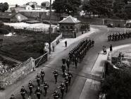 422 Squadron - On Parade 1945