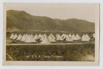 The 13th Royal Welch Fusiliers Camp on Conway...