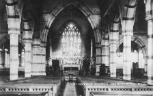 St Michael's church interior, Aberystwyth