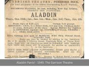 Aladdin, Pembroke Dock - 1949