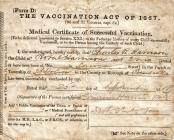 Child Vaccination Certificate - 1888