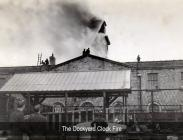 Pembroke Dock, Clock Tower Fire - 1944