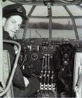 F/L Lloyd F. Detwiller with Straddle - 1945