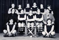 Bush Grammar School First XI Hockey Team 1956/57