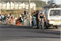 Kermesse cycle race around Aberystwyth 1991