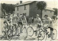 Ystwyth Cycle Club team 1966