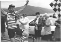 Winner of the Aberystwyth Cycle Race 1987