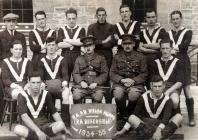 Royal Artillery Football Team 1934-35