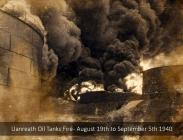 Llanreath Oil Tanks Fire - 1940