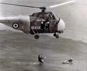 Royal Navy Whirlwind Helicopter XL848