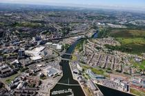 Swansea Docks and Afon Tawe