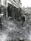Clearing slurry following the Aberfan disaster,...