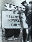 AA sign following the Aberfan disaster, 1966