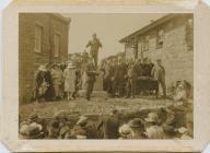 Hedd Wyn's Memorial unveiled 1923