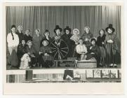 Dre-fach Velindre W.I. in a pageant, Carmarthen...
