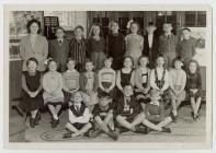 Disgyblion Ysgol Penboyr 1959