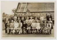 Disgyblion Ysgol Penboyr 1960