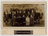 Penboyr Mixed School pupils 1936