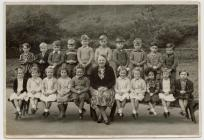 Penboyr School pupils 1957