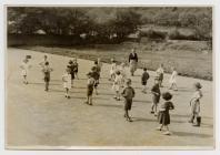 Disgyblion Ysgol Penboyr 1957