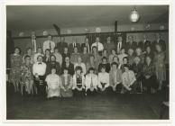 Bargod Teifi Choir Annual Dinner, 1970