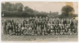 Ysgol Penboyr, 1953/4