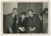 Nel Fach y Bwcs yn 90 oed, 1960