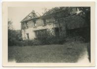 Tan yn Ffatri Glan Bargod, Drefelin, 1953