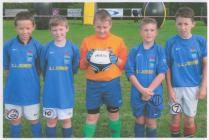 Champions of the Drefach Felindre Carnival Cup,...