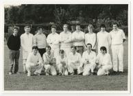 Dre-fach Felindre Cricket Team, 1986