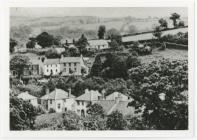 View of Dre-fach Felindre, 1940s
