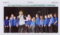 Ysgol Penboyr: cyngerdd Y Garthen, 2013
