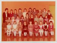Dosbarth Ysgol Penboyr c. 1979