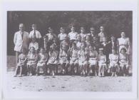 Disgyblion Ysgol Penboyr c.1949