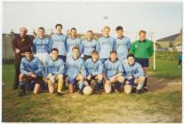 Cei Newydd  v Bargod Rangers, 1994-95