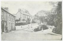 The square at Aberbanc, Ceredigion