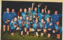 Bargod Rangers team photo after winning the cup