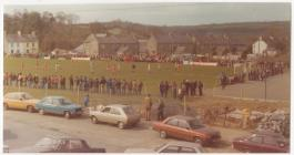 Parc Puw during the  Wales v Eire Welsh Schools...