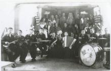 POW Camp Henllan prisoners, early 1940s