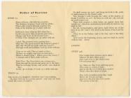 William Lewes, Llysnewydd Funeral Leaflet, 18...