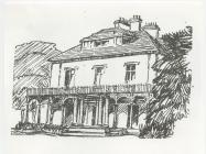 Llysnewydd,  Dre-fach Velindre, around 1910