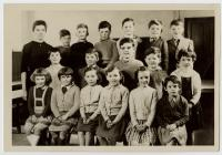 Penboyr School class c.1960