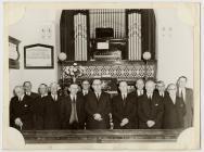 Minister and Deacons of Soar, Penboyr 1960s