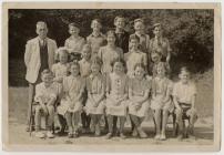 Penboyr School senior class, 1948