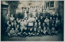 Penboyr School, c.1924